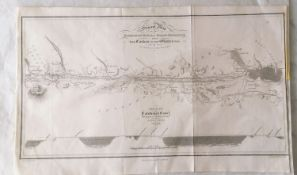 A General Map of the Caledonian Canal by W Lorimer, published by Constable, Edinburgh; Plan of Ayr