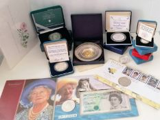 A cased silver hallmarked dish to commemorate the wedding of Charles & Diana, 1981 with COA; a