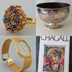 Silver, Jewellery, Watches, Books & Collectibles