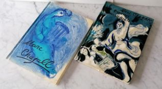 1. Illustrations for the Bible by Marc Chagall [Verve (Vol VIII, Nos. 33-34] CHAGALL, text Jean