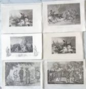 A selection of antique copper and steels engraving mostly relating to North America to include: '