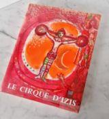 CHAGALL, Marc (1887-1985), illustrator, PREVERT, Jacques (1900-1977), Le Cirque D 'Izis, Monte