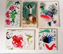 Marc CHAGALL (1887-1985) Maitres-Graveurs Contemporains (Contemporary master engravers), 1965,