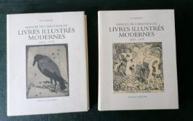 Luc Monod, MANUEL DE L'AMATEUR DE LIVRES ILLUSTRES MODERNES 1875-1975, A-K, L-Z, published by Ides &