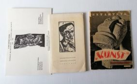 "Entartete ""Kunst"" Ausstellungsführer, 1938/1938, stapled, covers loose, contents in good"