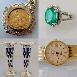 Coins, Jewellery, Watches & Collectibles