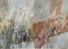 Frederick Donald Blake RI, RSMA (1908?1997), OVER THE ROOF, watercolour, pen on paper, 34 x 47 cm,