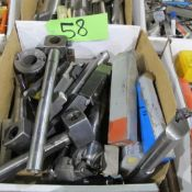 1 BOX OF CARBIDE CUTTER BIT BARS AND HOLDERS