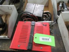POWER FIST BATTERY CHARGER 10/2 AMP, 12 V & ECLIPSE DEMAGNETIZER