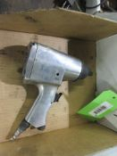 3 BOXES PNEUMATIC GRINDERS & WRENCH HAND TOOLS