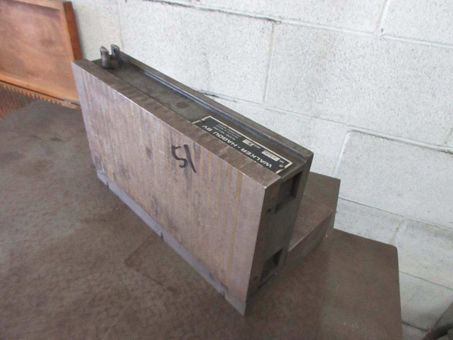 """24"""" X 18"""" X 1"""" PRECISION SURFACE TABLE, 6""""X12"""" WALKER MAG CHUCK - Image 2 of 2"""