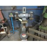 BALDOR DUAL PEDESTAL GRINDER 3 HP, SPARE GRINDING WHEEL