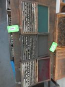 3 BOXES BLOCK GAUGE SETS