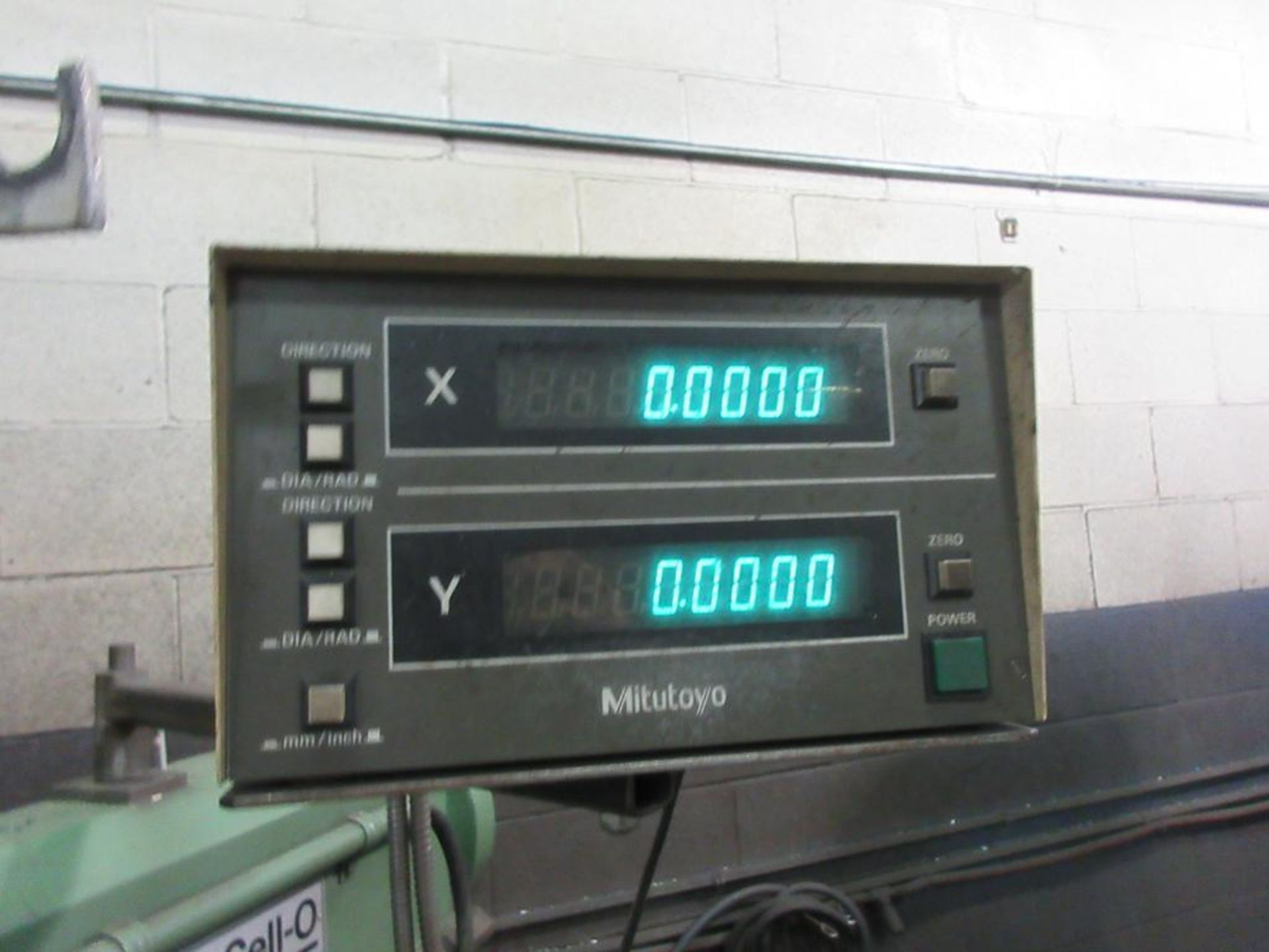 """EXCELLO MILL MODEL 602, 47""""X9"""" TABLE, 85-4000 RPM, MITUTOYO 2 AXIS DRO, COLLET STYLE , 2 BOXES - Image 5 of 6"""