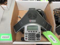 POLYCOM SOUNDSTATION IP 5000 CONFERENCE UNIT, SN 64167F1289AE