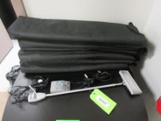 (8) NORDIC LIGHT LED SIGNAGE LIGHTS W/ CARRY CASES (TABLE EXCLUDED)