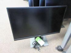 """DELL MONITOR 24"""", MODEL P2417H, POWER CORD, HDMI CABLE"""