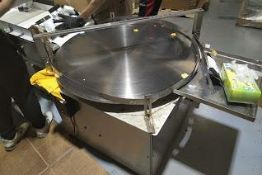 """36"""" Stainless Steel accumulation table, variable speed control, 110 v (Exclusive rigging fee $200 wi"""