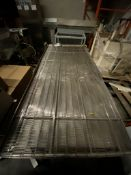 """Wire mesh conveyor, 82"""" x 34"""" x 28"""", stainless, motorized, 230/460v (Exclusive rigging fee $75 will"""
