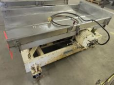 Cardwell Vibratory Conveyor, Model 1854, 2 HP, sn 1085-08 (Exclusive rigging fee $200 will be added