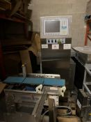 """Gorring-Kerr D900 Checkweigher, 9.5"""" x 5.5"""" conveyor sections, belts parts missing (Exclusive riggin"""