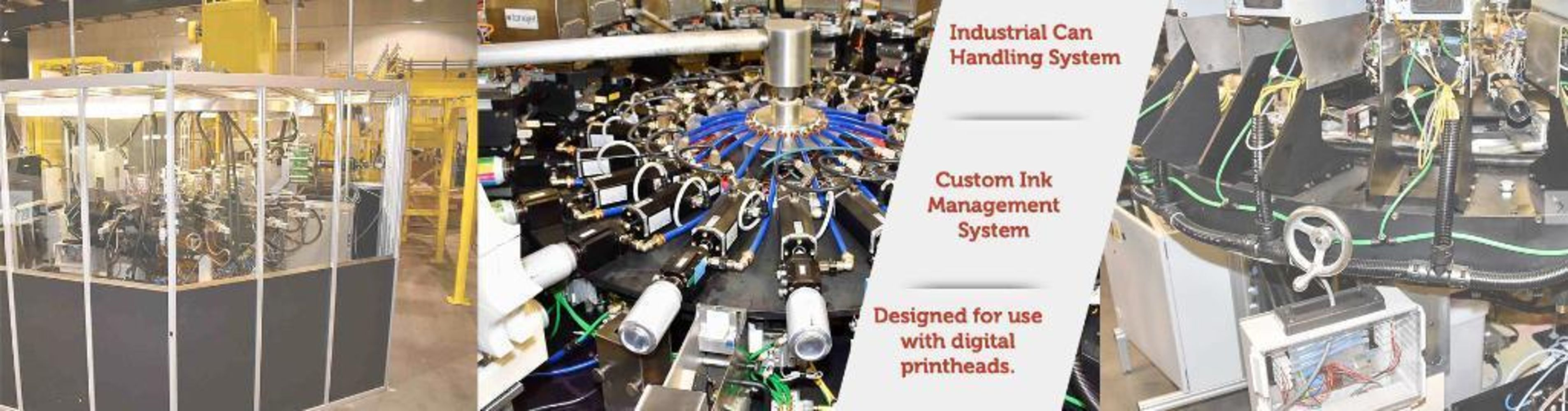 Beverage Can Printing & Handling System