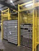 SKA Fabrication Side By Side Beverage Can De-Palletizer/Re-Palletizer. Can-I-Bus full height pallet