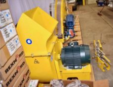 Twin City Vacuum Elevators. (2) Vacuum Elevator table top conveyor modules with Rexnord tab chain. T