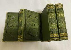 Schillers sämtliche Werke in zwölf Bänden