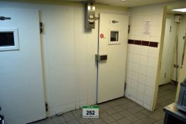 A FOSTER Triple Coldroom comprising COLDROOM 1 with Single Access Door, WILLIAMS Single Fan Chiller,