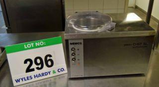 A NEMOX Gelato Chef 5-Litre Automatic Benchtop Electric Ice Cream Maker