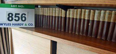 Twenty Eight Volumes of The Waverley Novels including Volumes 1, 2, 3, 4, 5, 6, 7, 8, 9, 10, 11, 13,