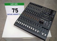 A MACKIE PPM1012 2 x 800W Professional Powered Desktop Mixer (N.B. This Unit will require some