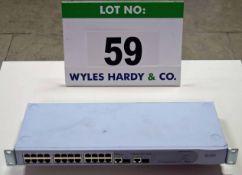 A 3COM 2226 Plus 24-Port Plus Two Baseline Switch