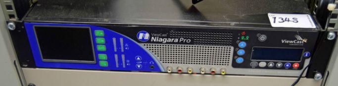 A VIEW CAST Niagara Pro Streaming A/V Media Encoder