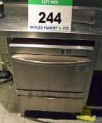 A WINTERHALTER GS125 Under Counter Commercial Glass Washer (As Found)