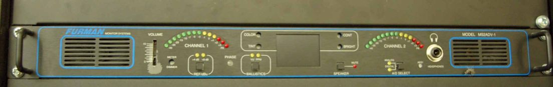 A FURMAN MS2ADV-1 2-Channel AV Level Controller