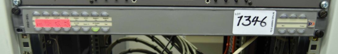 A PRO BEL 6700 Series Audio Router