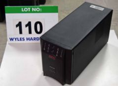 An APC Smart UPS 1500 Uninterruptible Power Supply