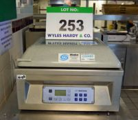 A MULTIVAC Type C200 Benchtop Electric Vacuum Packaging Machine, Serial No. 181163