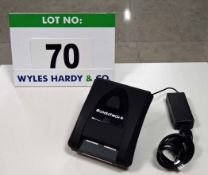 A COATCHECK Plus Digital Electric Cloakroom Ticket and Luggage Tag Printer complete with Mains