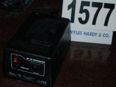 An EAGLE Model P006B 220V AC - to 110V AC Transformer