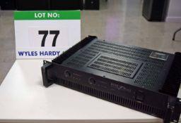 An INTER M Model R150 Plus 150W (2 x 75W) 2-Channel Reference Amplifier