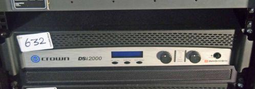 A CROWN Dsi 2000 Digital Screen Series Digital Video Amplifier (NB. Lots 606 thru 659 Inclusive form