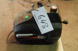 A SIP Airway Portable 240VAC Air Compressor (NB. Lots 606 thru 659 Inclusive form the Content of Lot