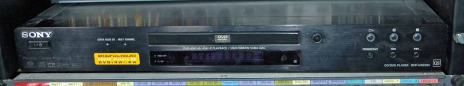 A SONY DVP-NS955V CD/DVD/DVDRW Player (NB. Lots 606 thru 659 Inclusive form the Content of Lot 660