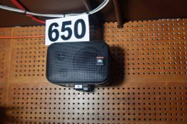 A Pair of JBL Wall mounted Audio Monitors (NB. Lots 606 thru 659 Inclusive form the Content of Lot