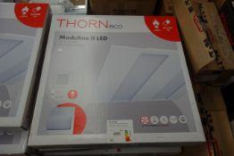 9 X Thorn ECO 22170104 Moduline II LED Recessed Panel 33W 3200 Lumen 597 X 597 4000K White Finish