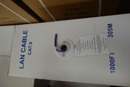 2 X Pull Boxes Of LAN Cable CPRHC042 Cat 6 4UTPCAT6LSF 305m per box