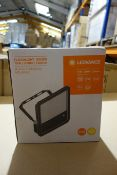4 X Ledvance 100DEG 70W LED Floodlight 3000K 7300 Lumen Black Aluminium Body